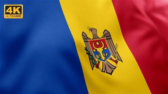 Thumbnail for Flag of Moldova - 4K
