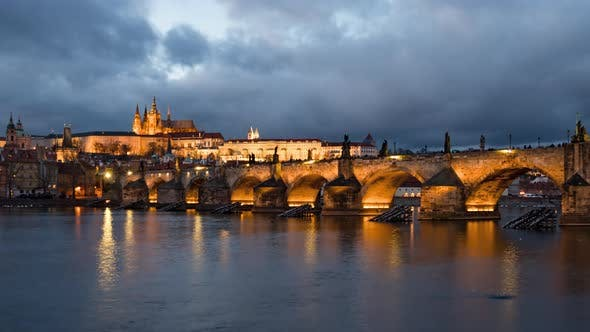 Thumbnail for Evening of Charles Bridge Prague