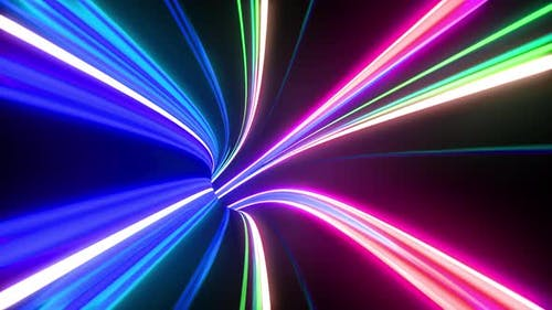 Colorful multicolored straight lines