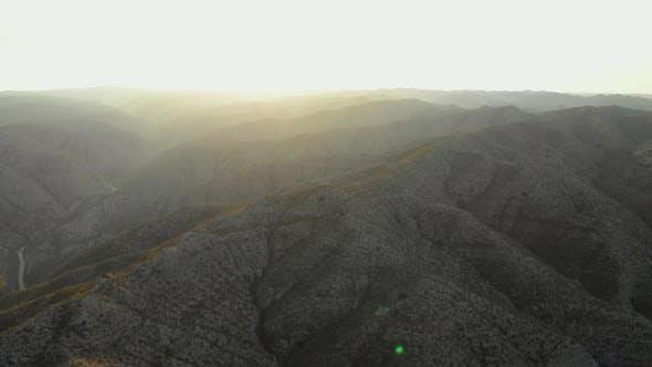 Thumbnail for Drone Shot of Peak of Egypt's Rocky Mountain Range