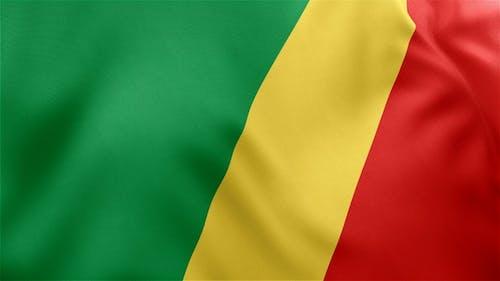 Republic of the Congo Flag