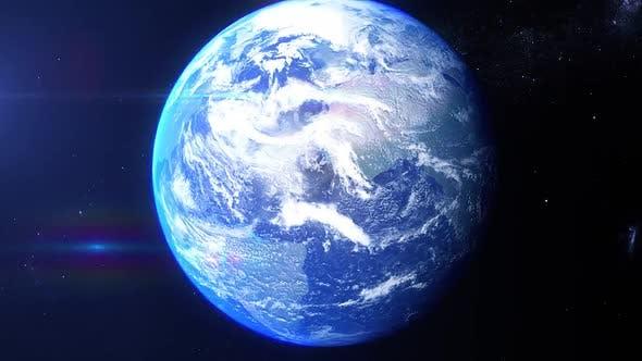 Thumbnail for Realistische Erde Zoom Vereinigte Staaten Kalifornien