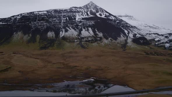 Mountain Summit Reflection on the Pond