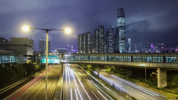 Thumbnail for Hong Kong Freeway Time Lapse