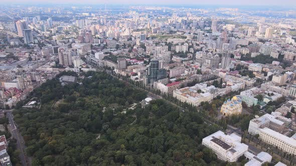Thumbnail for Kyiv, Ukraine Aerial View of the City, Kiev