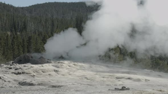 Thumbnail for Steam vent at Yellowstone National Park