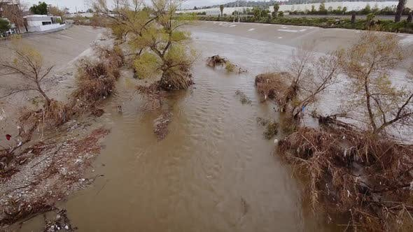 Thumbnail for Flood Damage In Los Angeles River