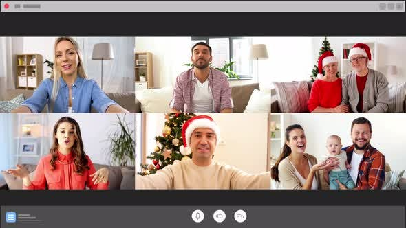 Thumbnail for Screen with People Having Group Video Chat