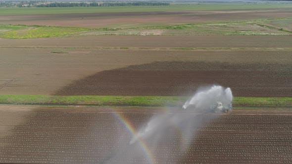 Irrigation System Agricultural Land