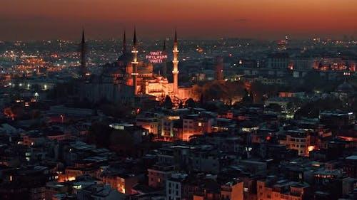Berühmte Sehenswürdigkeit von Istanbul