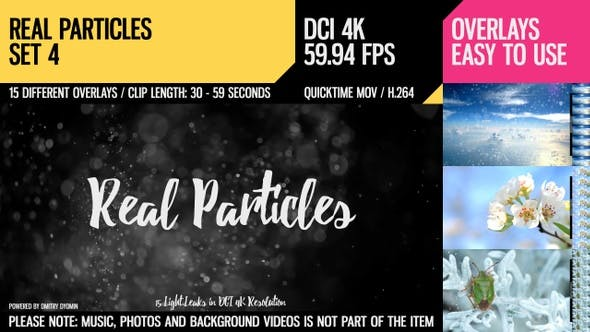Cover Image for Real Particles (4K Set 4)