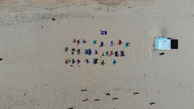 Yoga From Above
