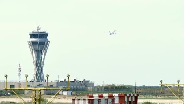 Thumbnail for Barcelona International Airport Radar Traffic Control Tower
