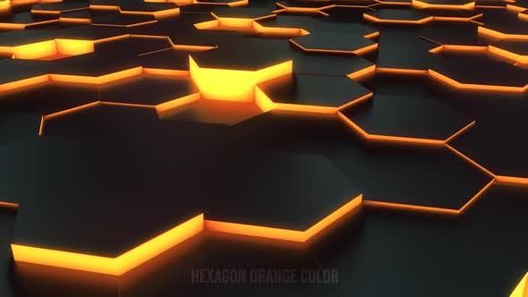 Thumbnail for Hexagon Neon Loop