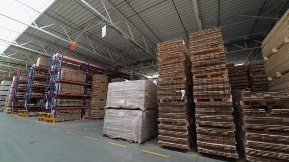 Fabrik für die Herstellung von Parkettplatten