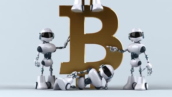 Thumbnail for Roboter mit Bitcoin