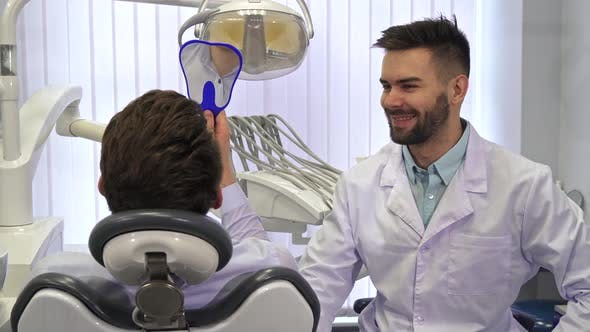 Thumbnail for Dentist Gives Mirror To the Client