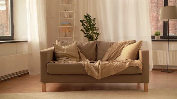 Thumbnail for Sofa with Cushions at Cozy Home Living Room 4