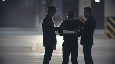 Mafia Men on Secret Meeting