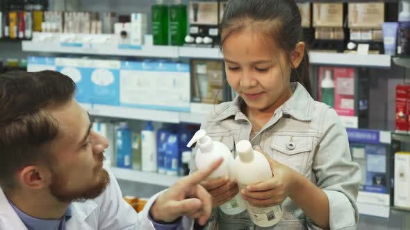 Thumbnail for Lovely Apothecary Helps a Young Girl To Choose What To Buy