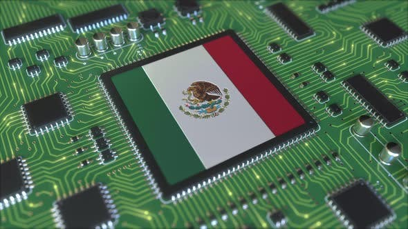 Thumbnail for National Flag of Mexico on the Operating Chipset