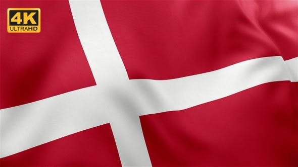 Thumbnail for Flag of Denmark - 4K