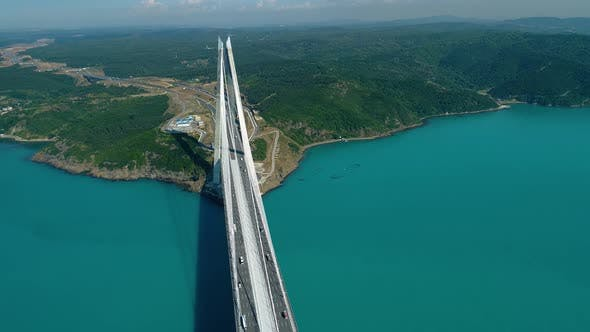 Cover Image for Aerial View Bridge