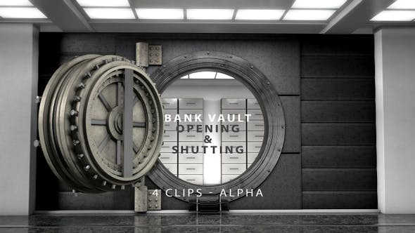 Thumbnail for Bank Vault Opening and Shutting