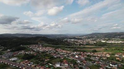 Flying Over Village Population