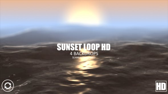 Thumbnail for Sunset Loop HD