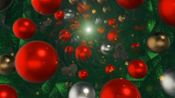 Thumbnail for Christmas Ball Decoration Tunnel