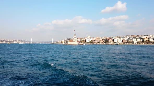 Thumbnail for Maiden's Tower In Bosphorus