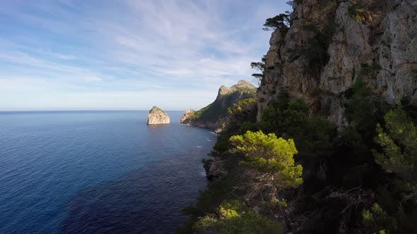 Thumbnail for Luftaufnahme der Küste Ozean Meer Landschaft Natur im Freien
