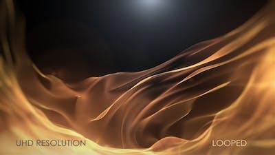 Golden Flow Luxury Background
