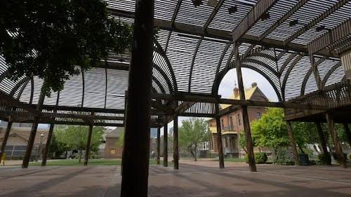 Der Lath House Pavillon am Heritage Square