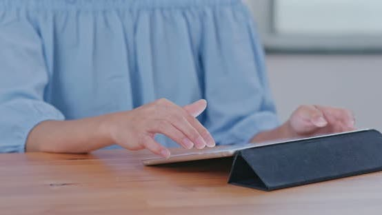 Thumbnail for Woman Use of Tablet Computer