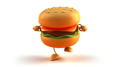 Hamburger dancing