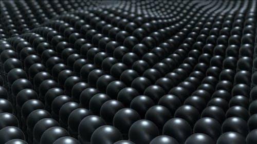 Dark Ceramic 3 D Balls