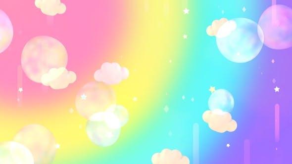 Thumbnail for Rainbow Bubbles Sky