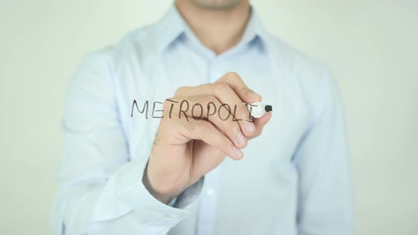 Thumbnail for Metropolis, Writing On Screen