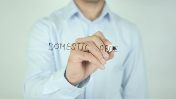Domestic Abuse, Writing On Screen