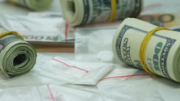 Dirty Money from Cocaine Sales