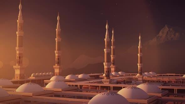 Al Masjid an Nabawi 3d mosque FHD Camera 06