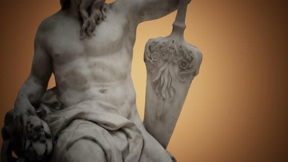 Thumbnail for Statue aus antikem weißem Marmor