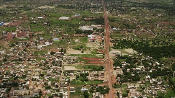 Thumbnail for Africa Mali Village Aerial View 37