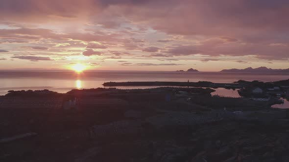 Thumbnail for Nordic Coast In Sunset Light