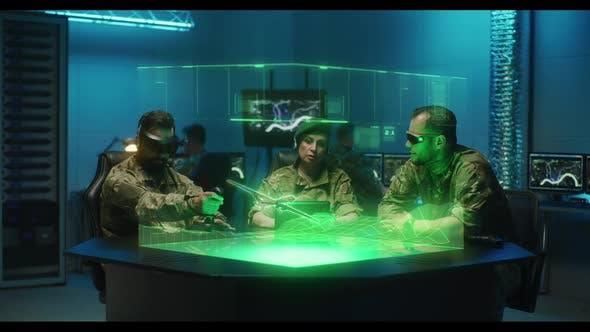 Soldaten Fernsteuernde KampfDrohne