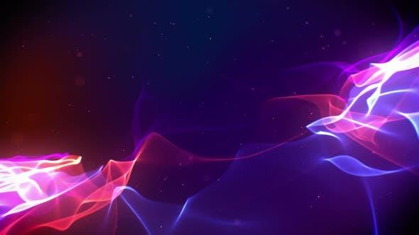 Energy Lights Background