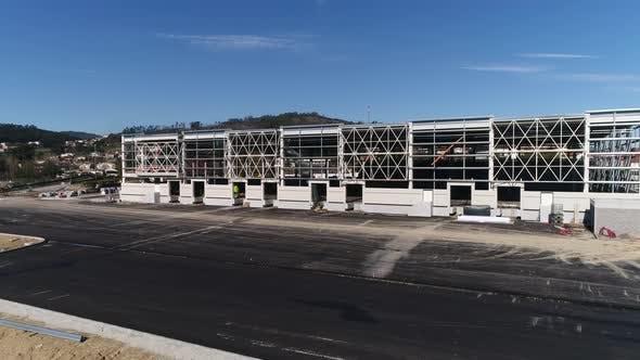 Thumbnail for Warehouse construction