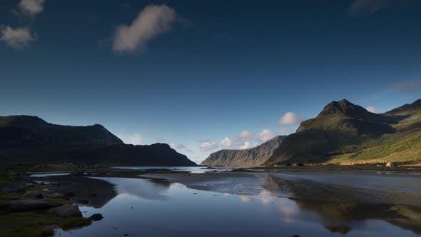 Thumbnail for Lake water norway nature timelapse lofoten